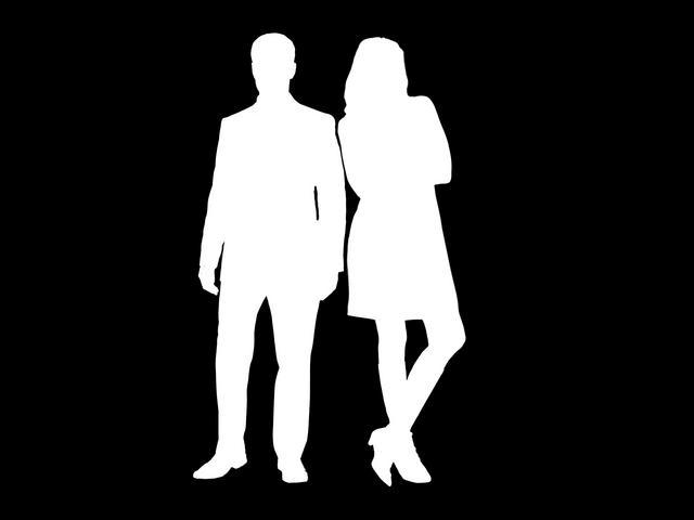 man-woman-silhouette