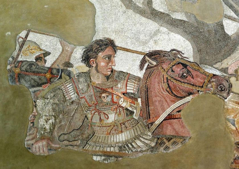 1024px-alexander_and_bucephalus_-_battle_of_issus_mosaic_-_museo_archeologico_nazionale_-_naples_bw